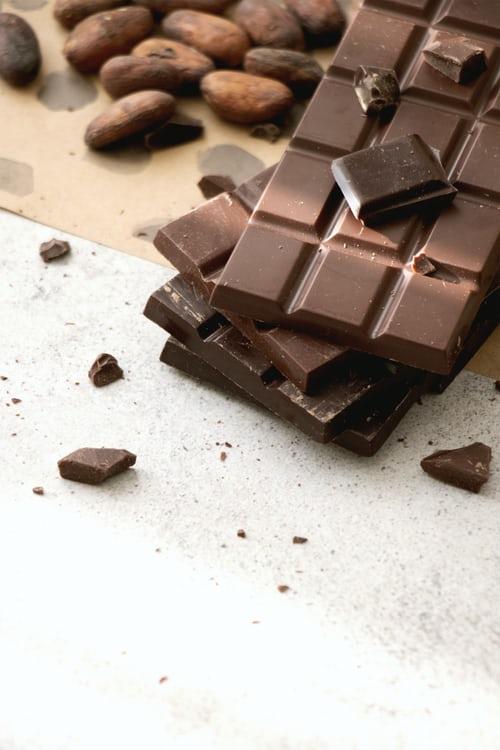 Les avantages de manger du chocolat